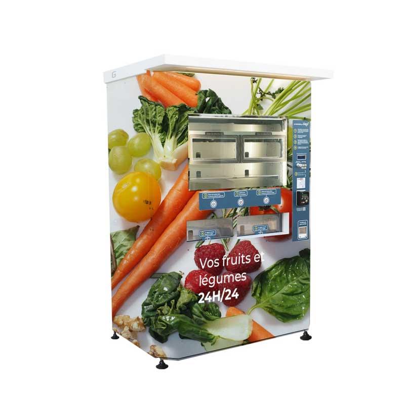 distributeur de fruits et légumes frais