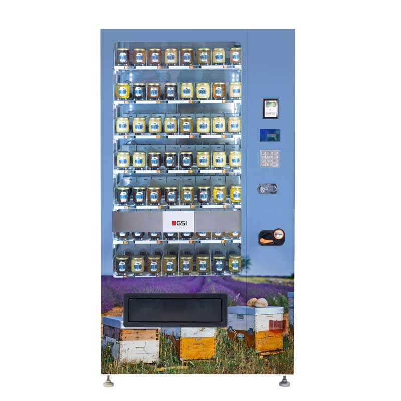 distributeur fruits legumes miel