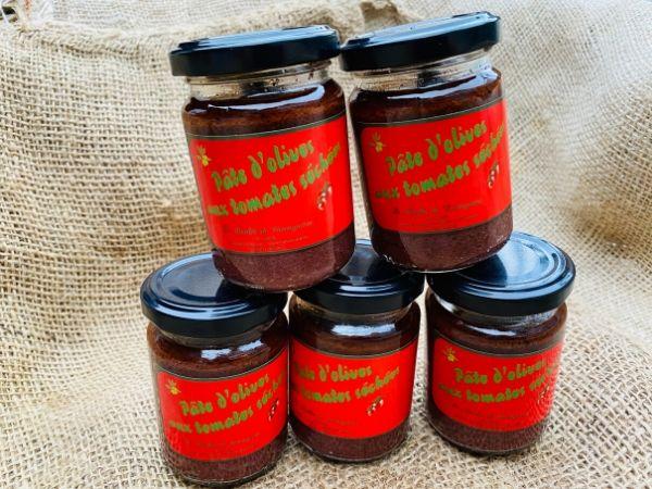 pâte d'olives tomates séchées