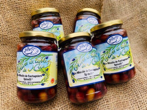 pot d'olives de nice aop