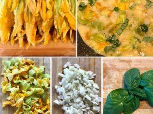 omelette fleur de courgette