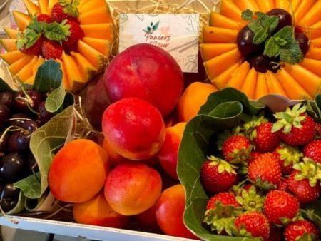 corbeille fruits frais