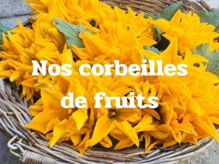Nos corbeilles de fruits